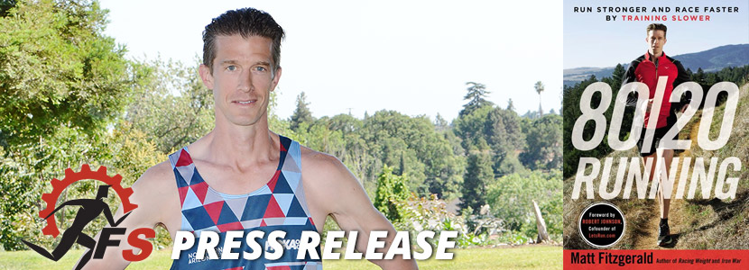"Acclaimed Running Author Matt Fitzgerald Partners with Final Surge for Unique ""Train Like a Pro"" Project"