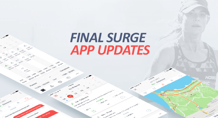New Final Surge iOS & Android App Updates: Language and Workout Builder