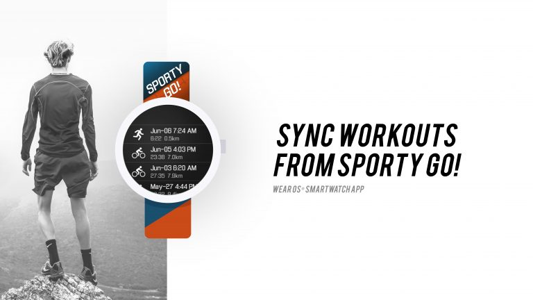 Sync Workouts from Sporty Go! – Wear OS Smartwatch App