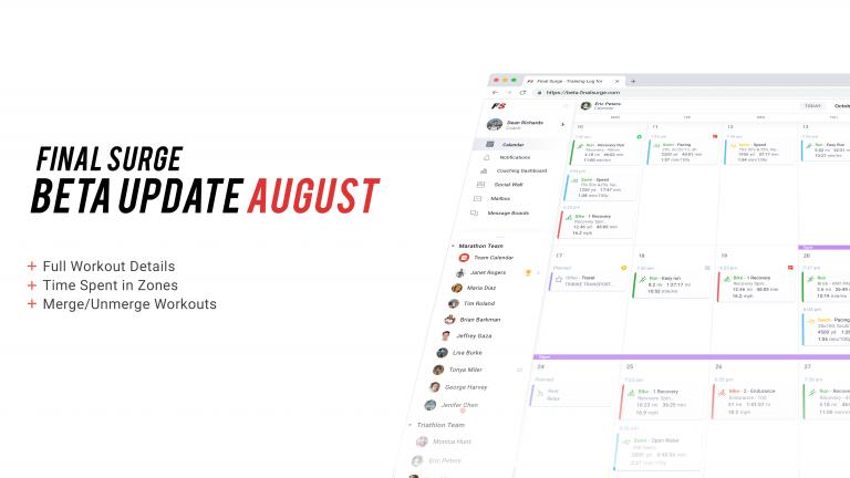 Beta Platform Updates: Merge/Unmerge, Full Workout Details & Zone Analysis
